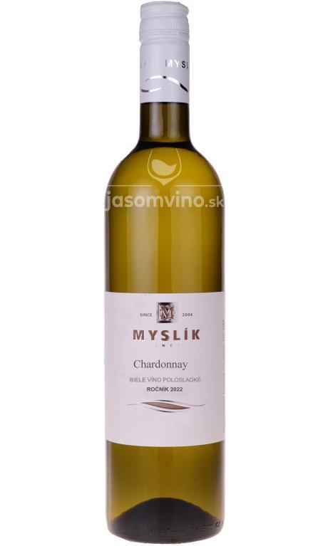 Chardonnay 2020 polosladké