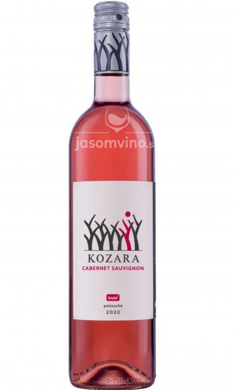 Cabernet Sauvignon rosé 2020 polosuché