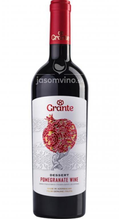 Dezertné sladké víno GRANTE z granátového jablka