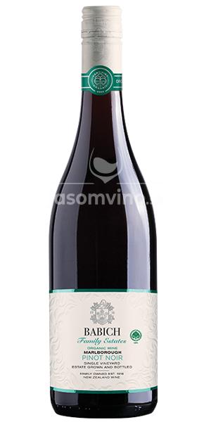 Babich Pinot Noir Organic Headwaters 2017 suché