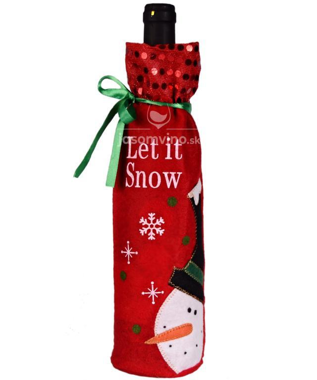 * Darčekový obal na víno – Vianoce