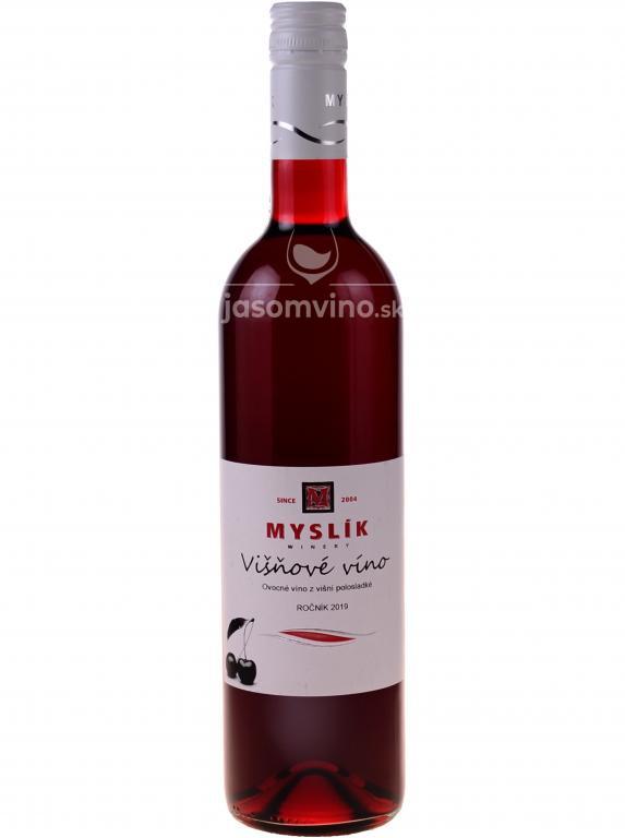 Višňové víno 2019 polosladké
