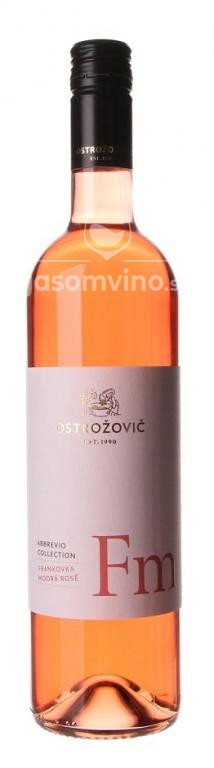Abbrevio Collection Frankovka modrá Rosé 2019 polosuché