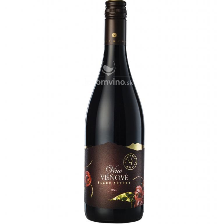 Višňové víno polosladké