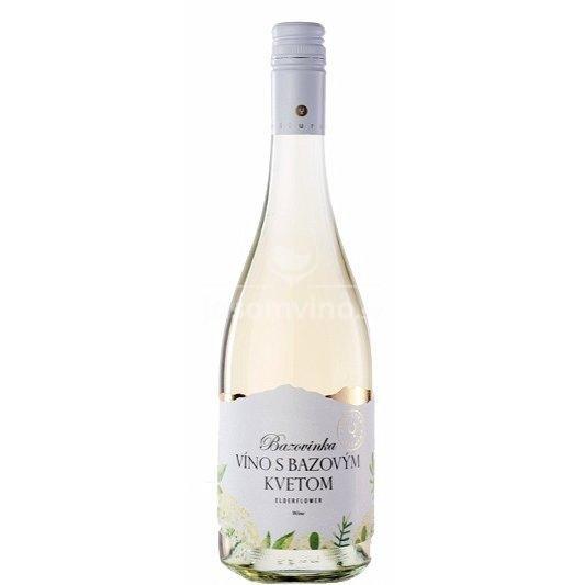 Bazovinka Víno s bazovým kvetom polosladké