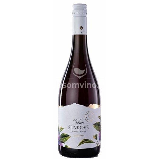 Slivkové víno polosladké