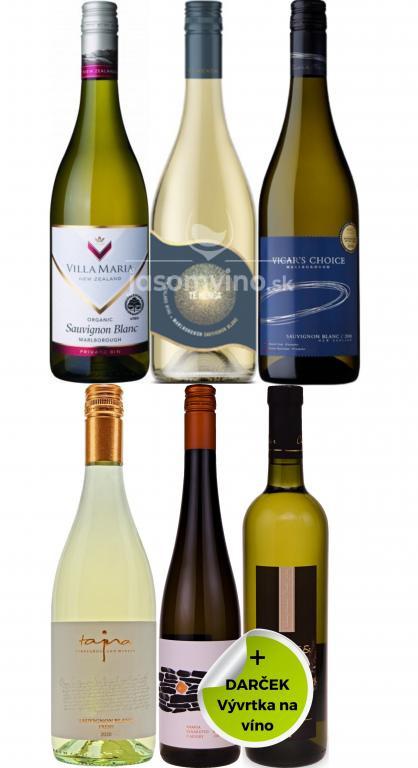 Set vín Sauvignon Blanc + darček
