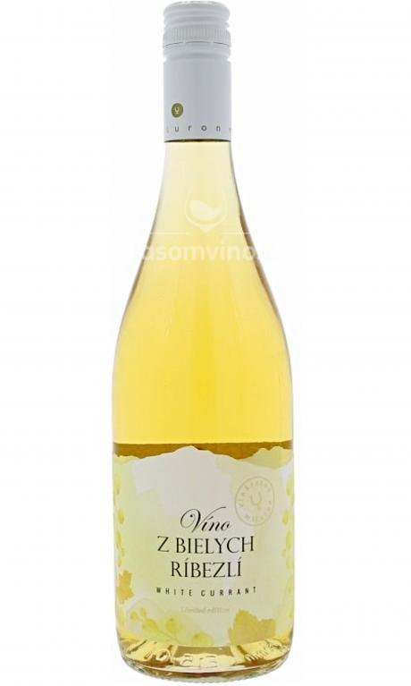 Víno z bielych ríbezlí polosladké