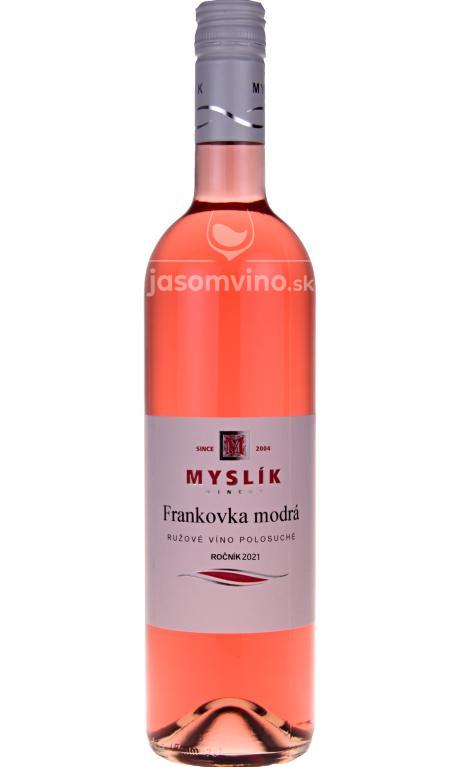 Frankovka Modrá rosé 2020 polosuché