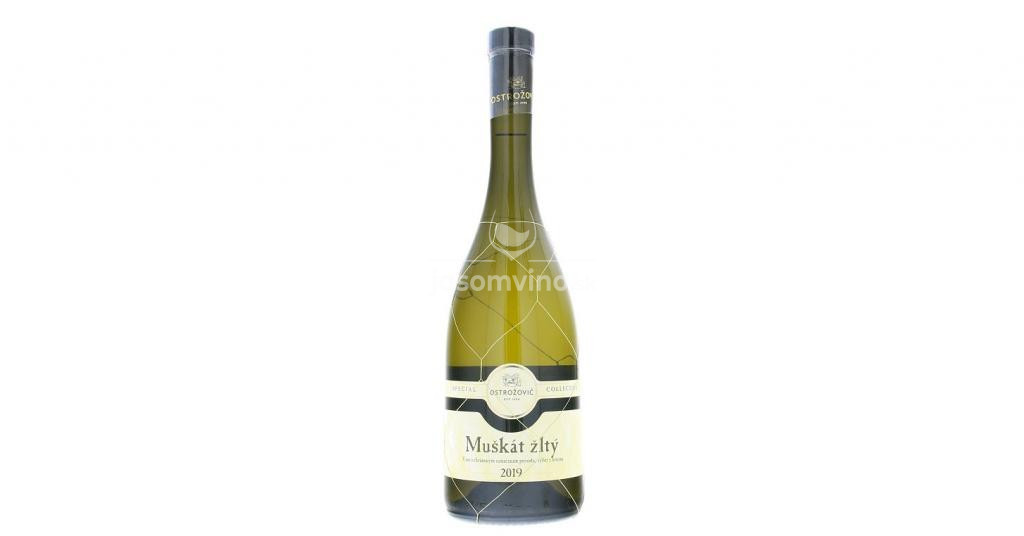Special Collection Muškát žltý Tokaj 2019 polosladké