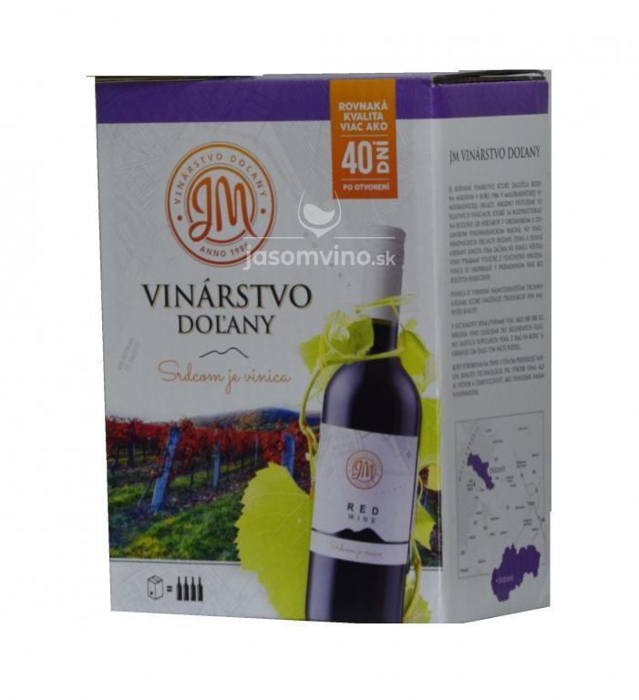 Víno z čiernych ríbezlí Bag in Box 3L