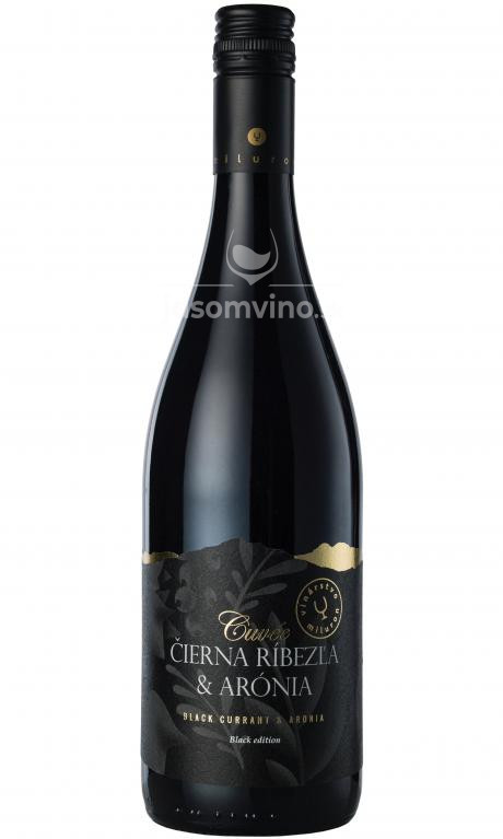 Cuvée Čierna ríbezľa & Arónia Black edition polosladké