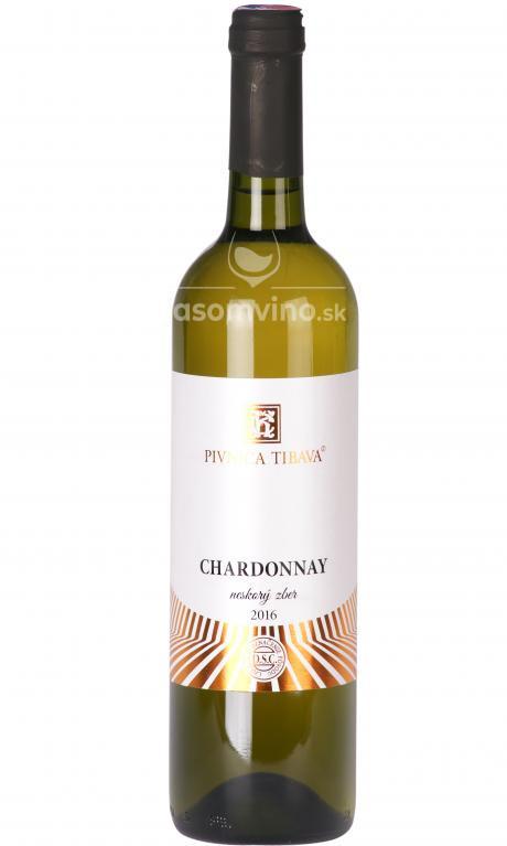 Chardonnay 2016 suché